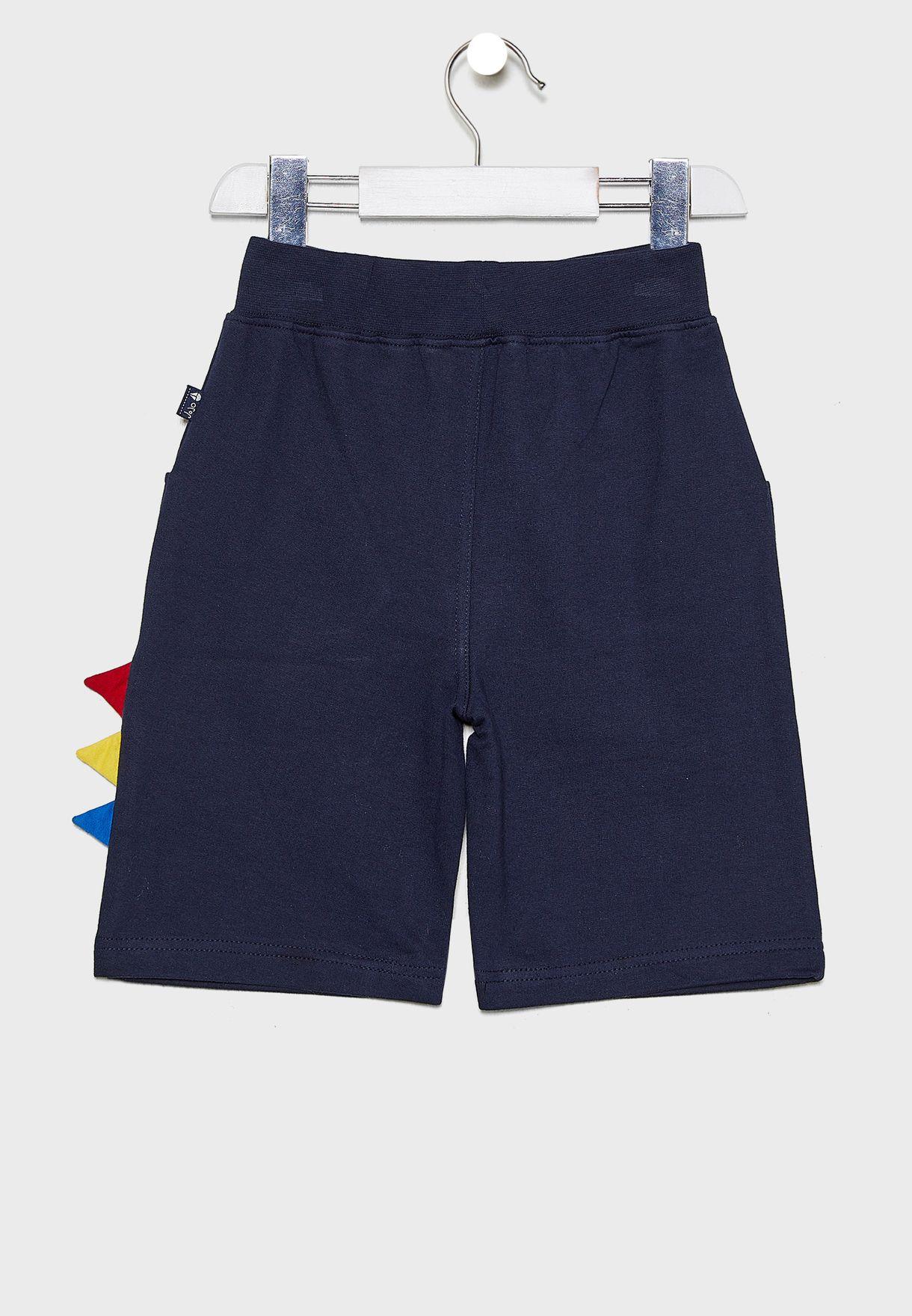 Kids T-Rex Shorts