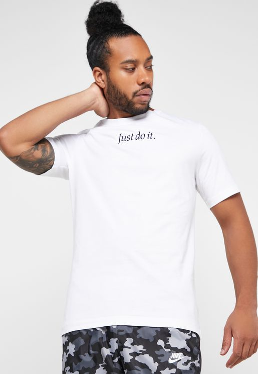 NSW Just Do It Embroidery T-Shirt