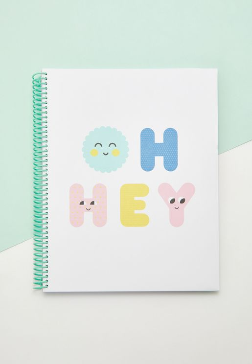 A4 Oh Hey  Notebook