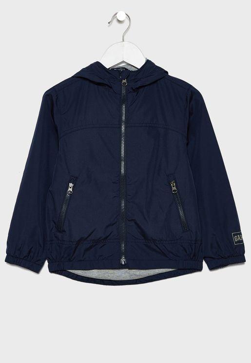 Kids Casual Windrunner Jacket