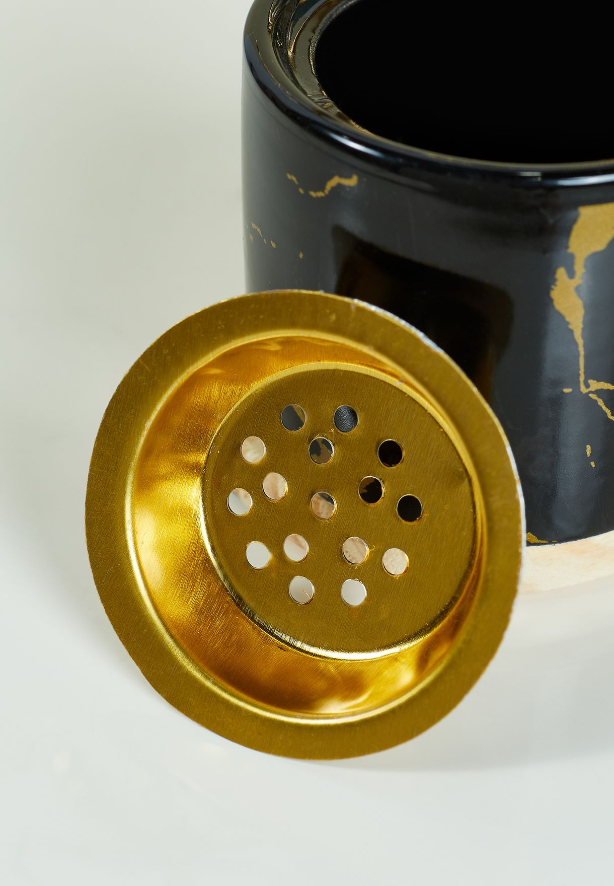 Palm Tree Ceramic Incense Burner