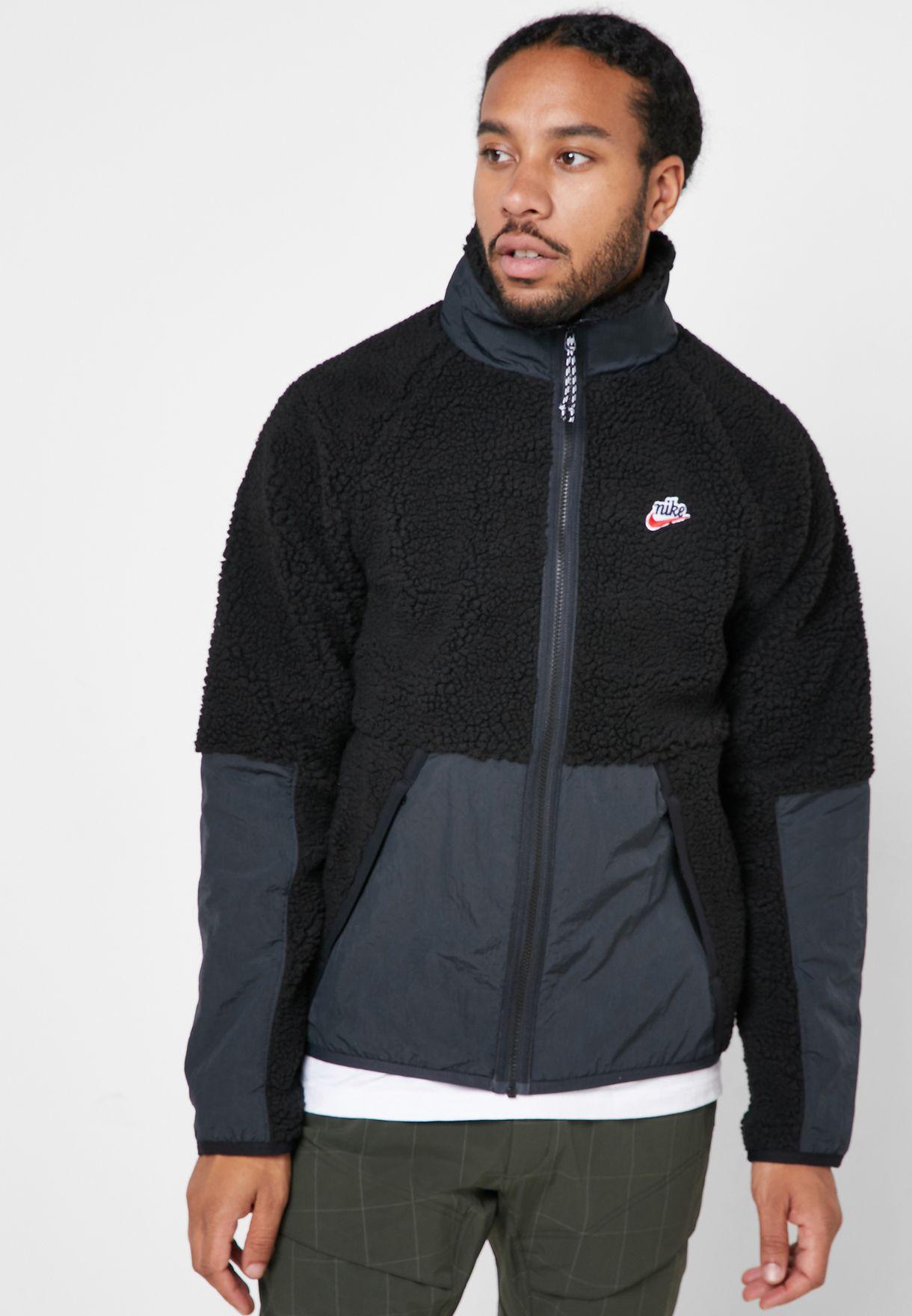 nike black winter coat