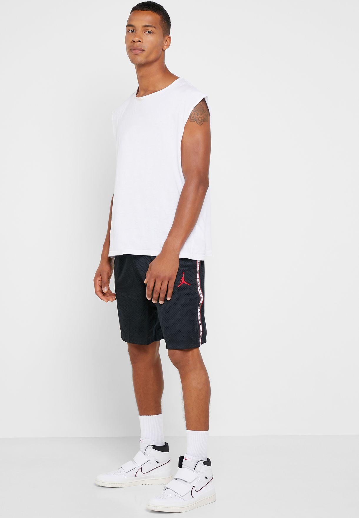 c44d6b3bcb7 Shop Nike black Air Jordan Tear Away Shorts AJ1146-010 for Men in ...
