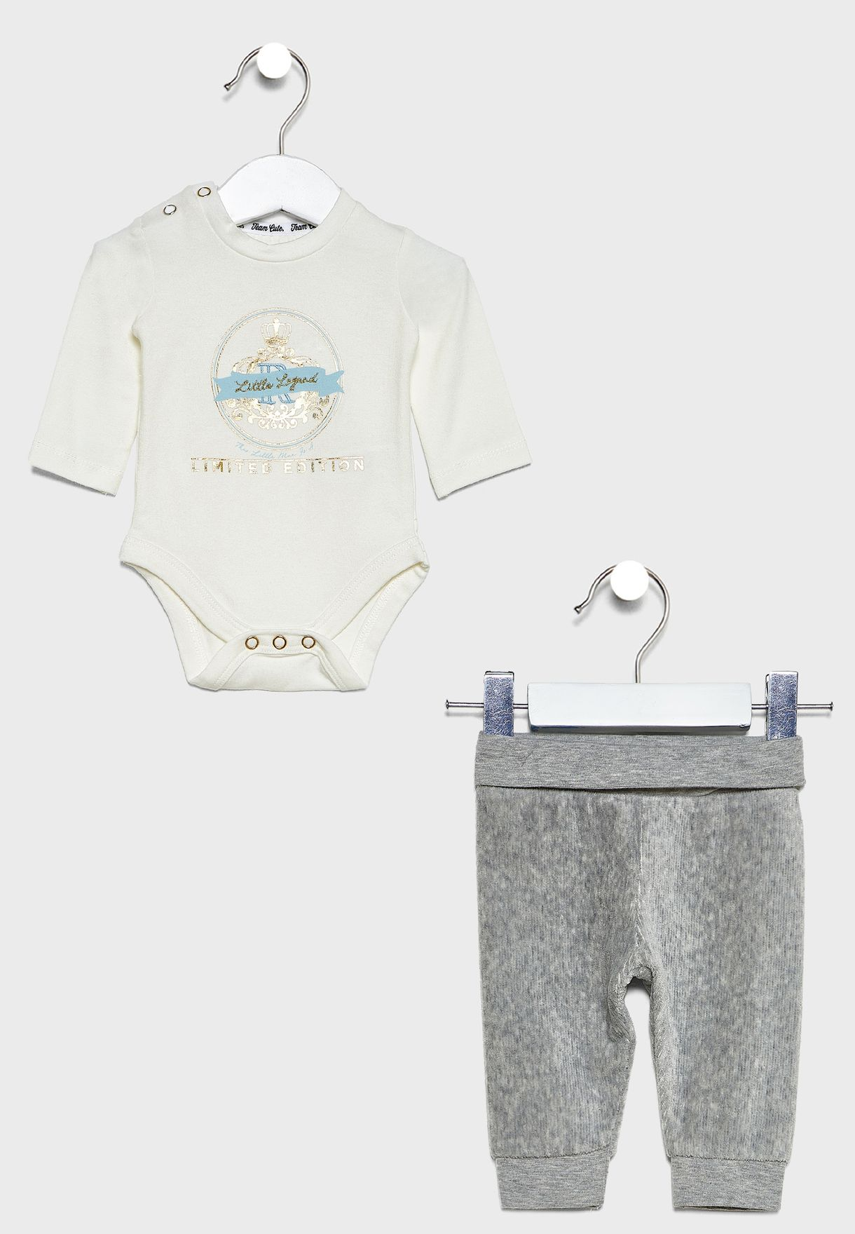 Infant Graphic Bodysuit + Sweatpants Set