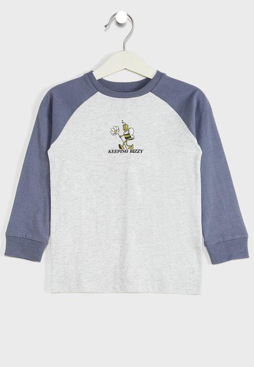Kids Keeping Bizzy T-Shirt