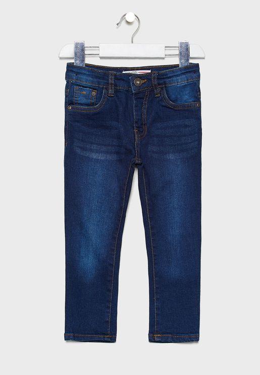 Little Dark Wash Jeans