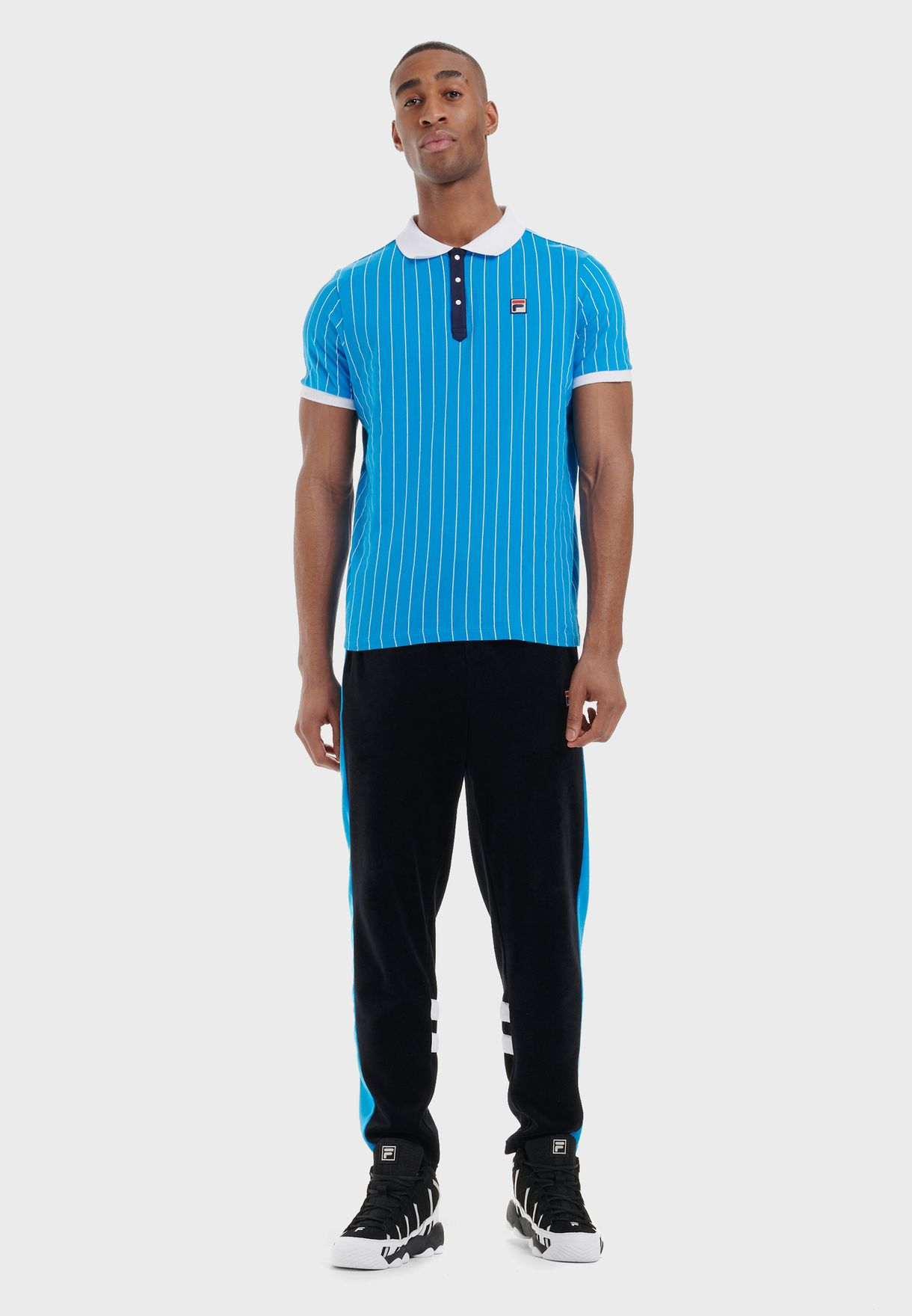 BB1 Borg Striped Polo