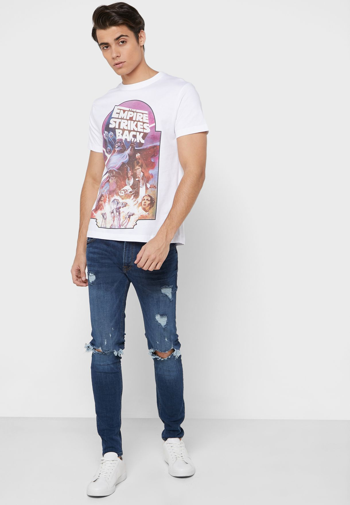 The Empire Strikes Back Crew Neck T-shirt