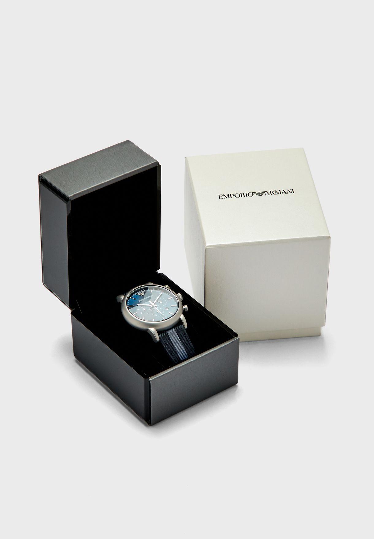 ساعة انالوج بخصائص كرونوغراف
