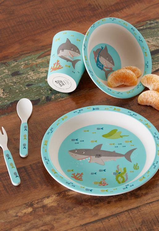 طقم ادوات المائدة القرش شيلبي