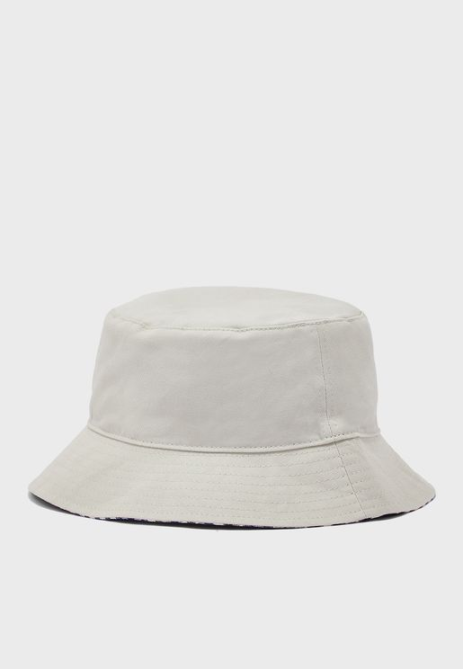 Checked Reversible Bucket Hat