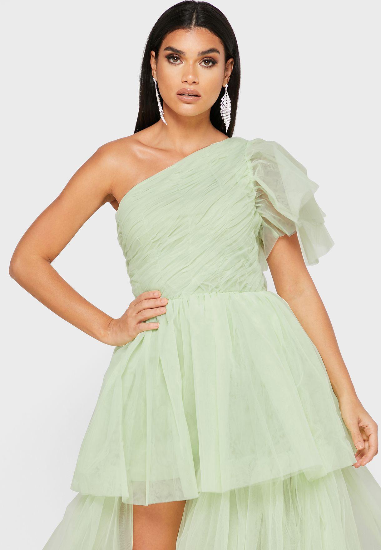 فستان شبك طبقات