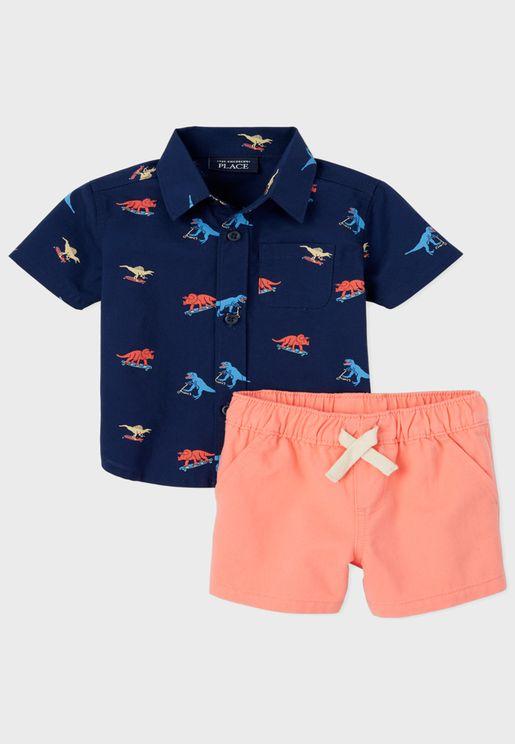 Baby Shirt+Shorts Sets