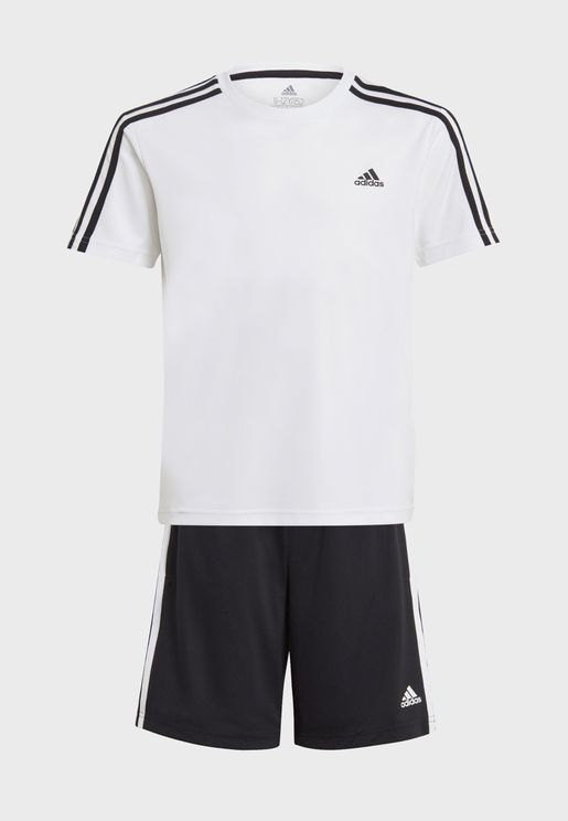 Youth 3 Stripe Set
