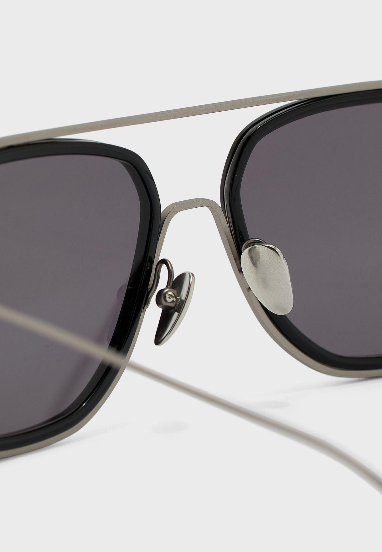 CK19123S Square Sunglasses