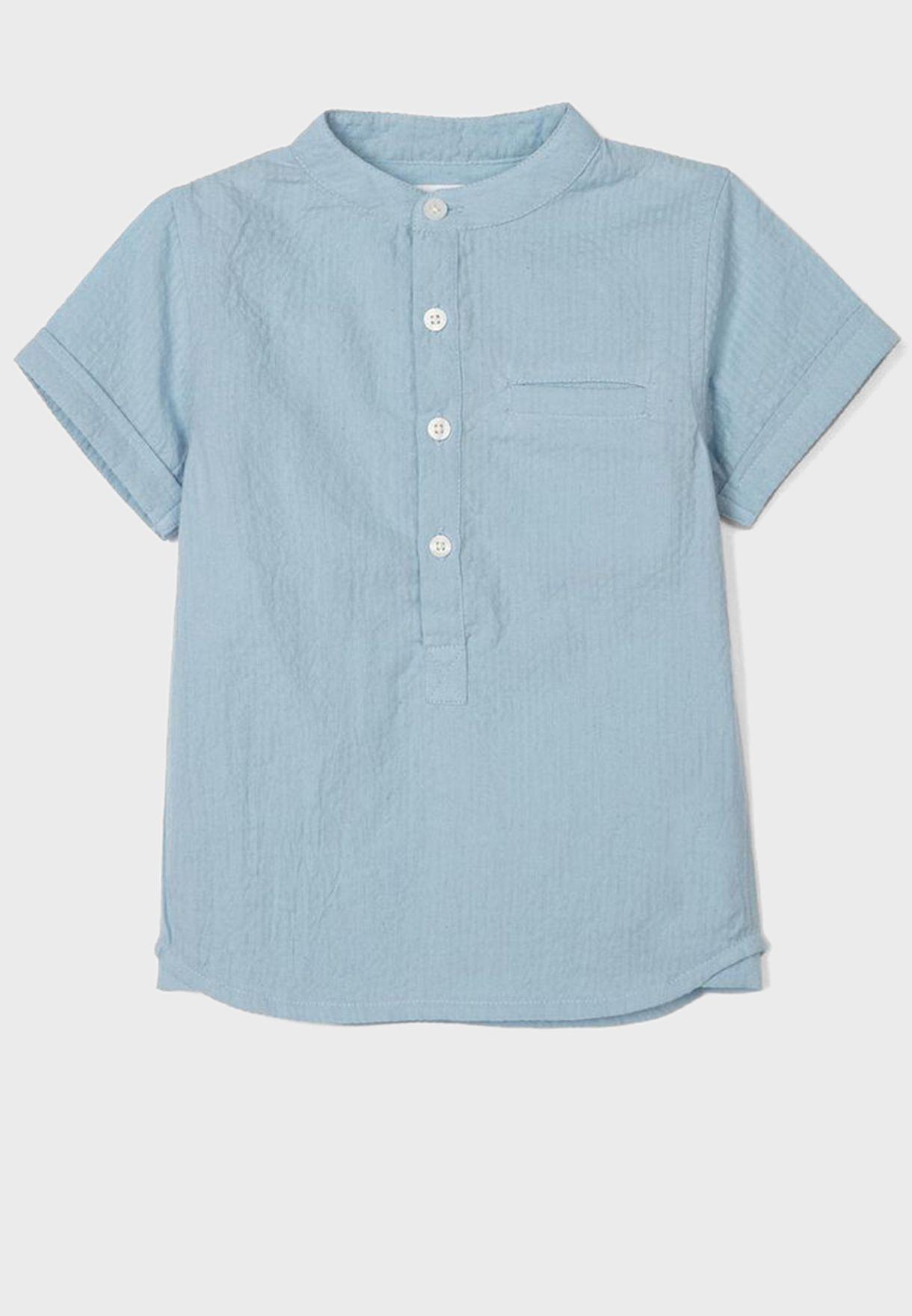 Infant Half Placket Shirt