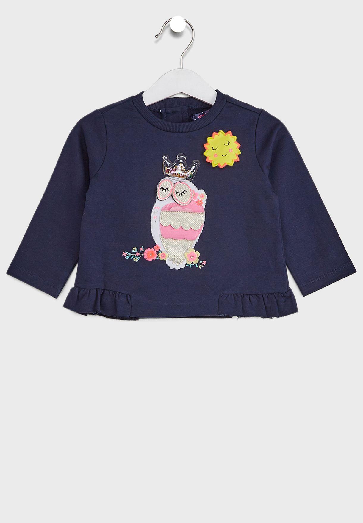 Infant Applique Clothing Set