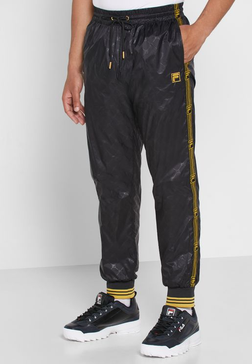 Gregory Embossed Cuffed Track Pants