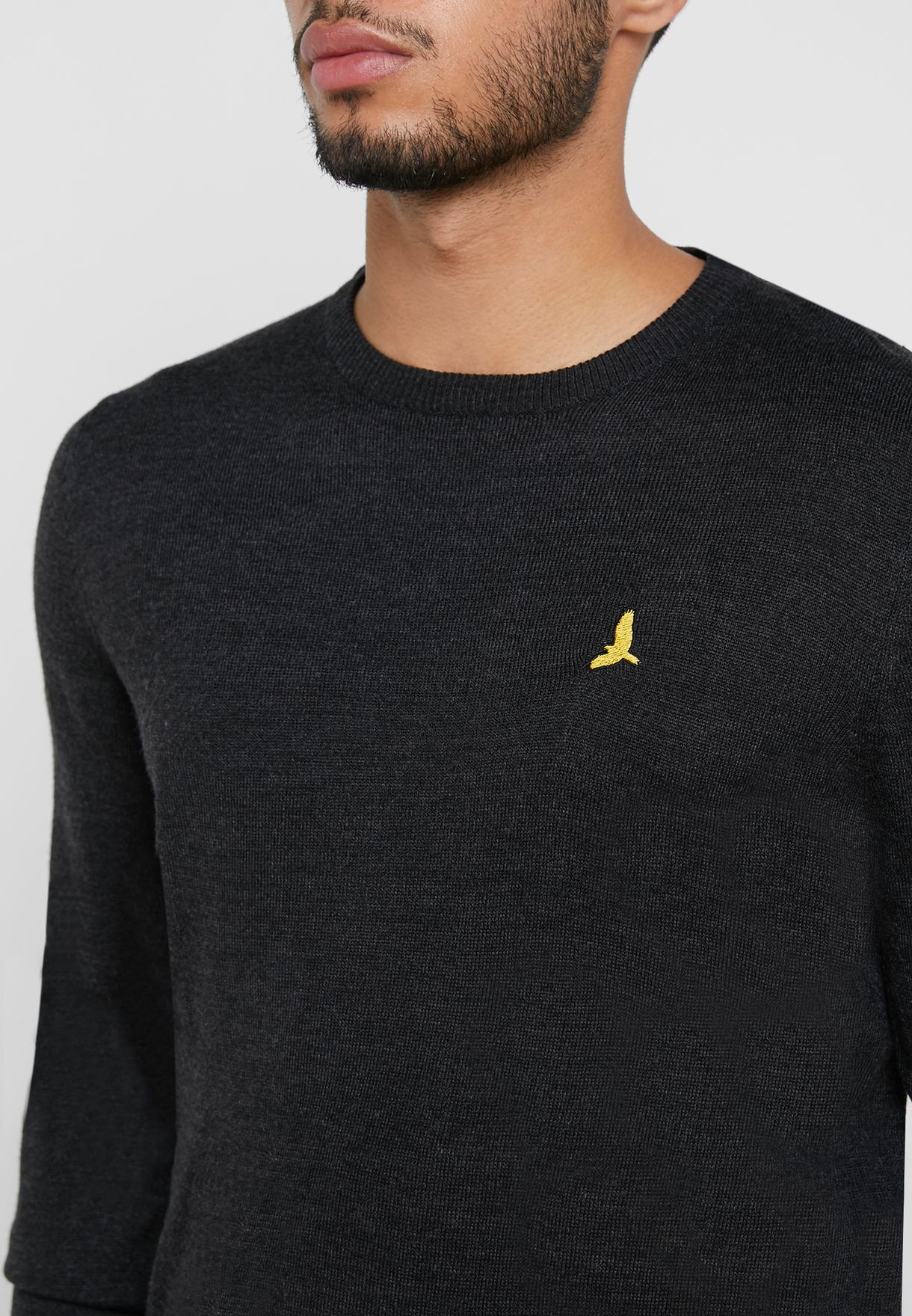 Logo Crew Neck Knit