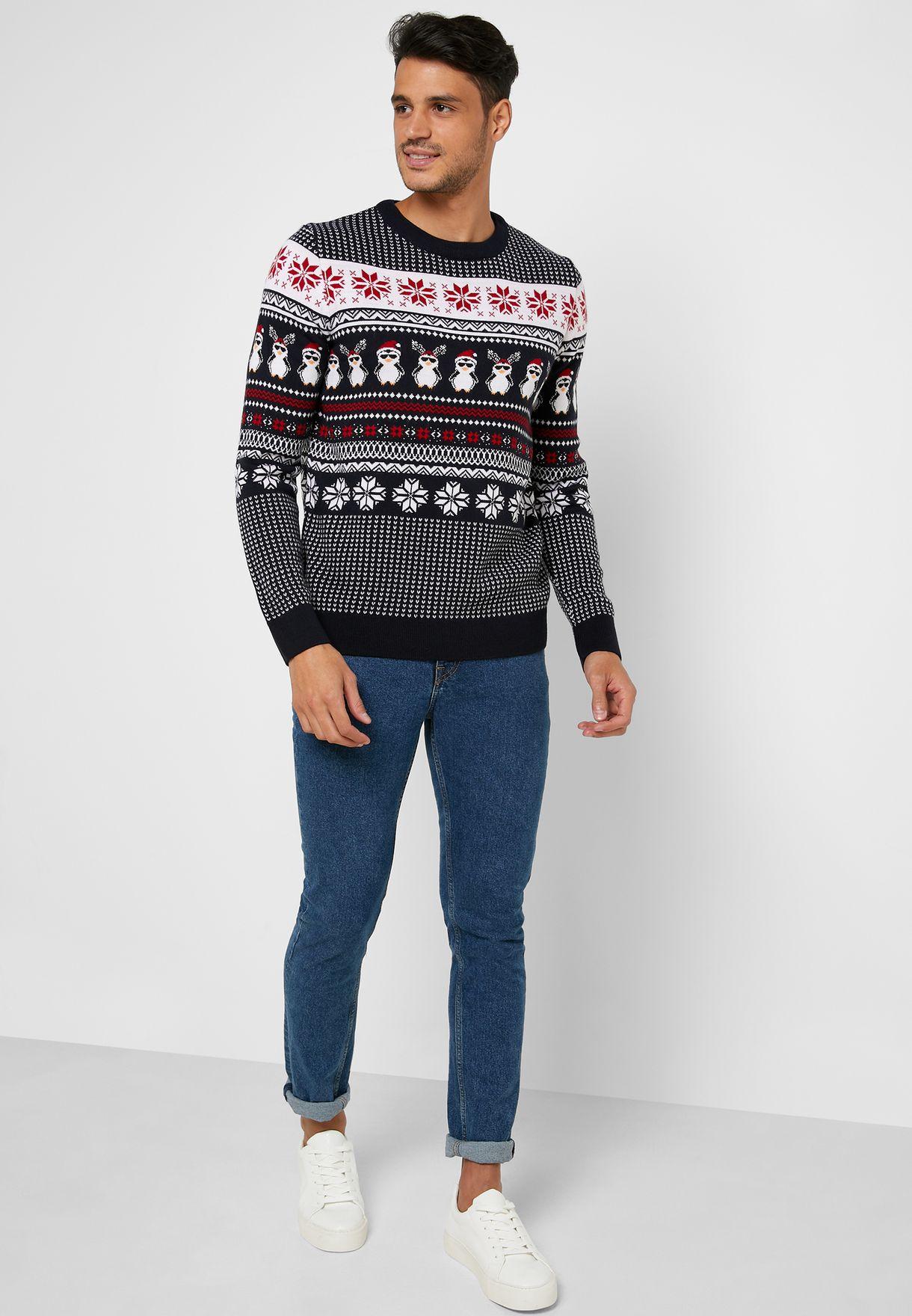 Christmas Printed Sweater