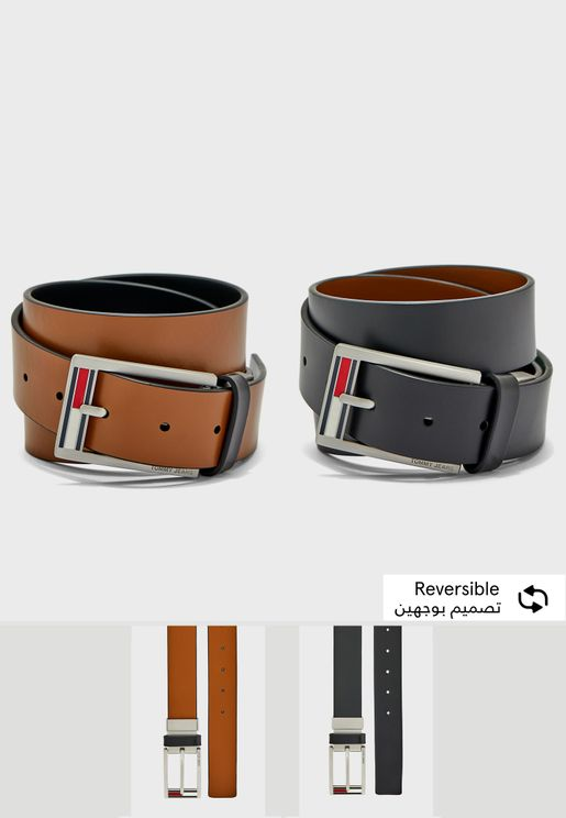 Flag Reversible Belt