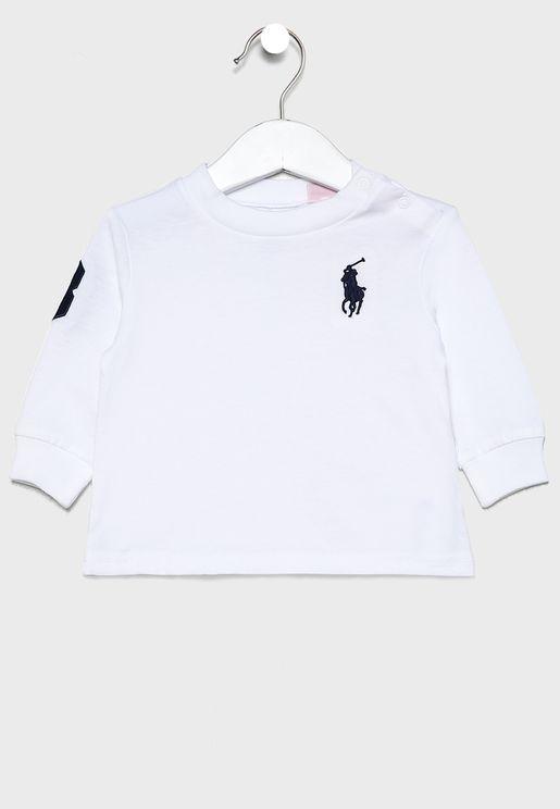 Infant Logo Varsity T-Shirt