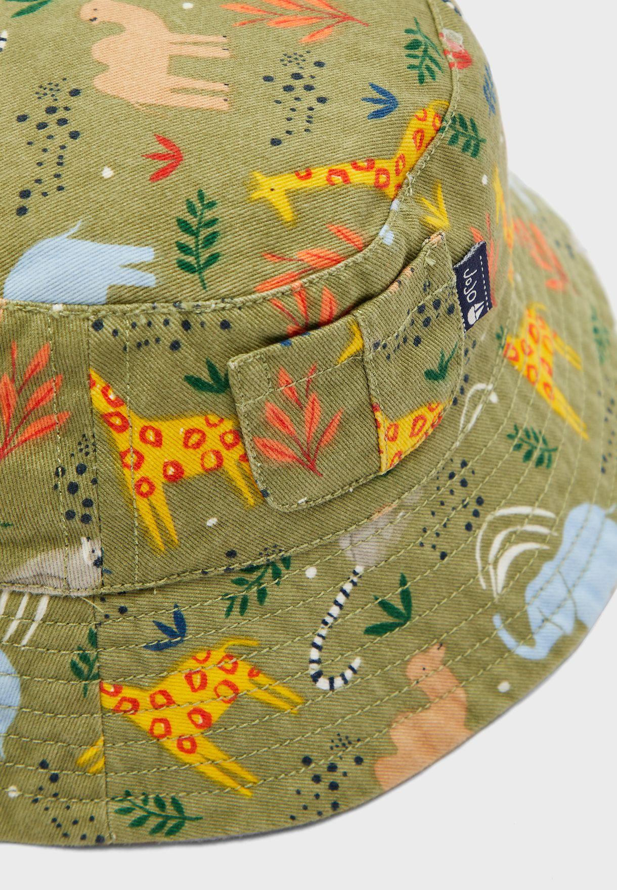 Kids Safari Bucket Hat
