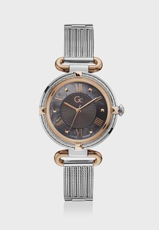 Cablechic Mesh Mid Size Watch