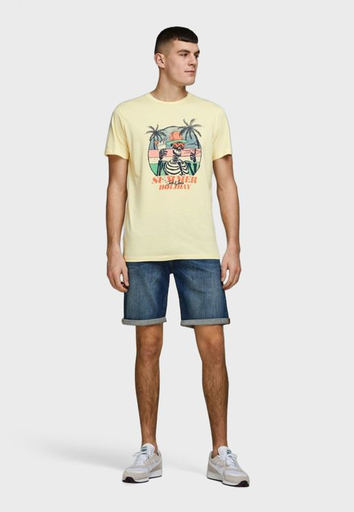Oniket Crew Neck T-Shirt