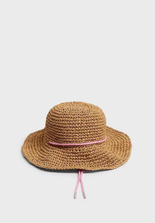 قبعة محبوكة للاطفال