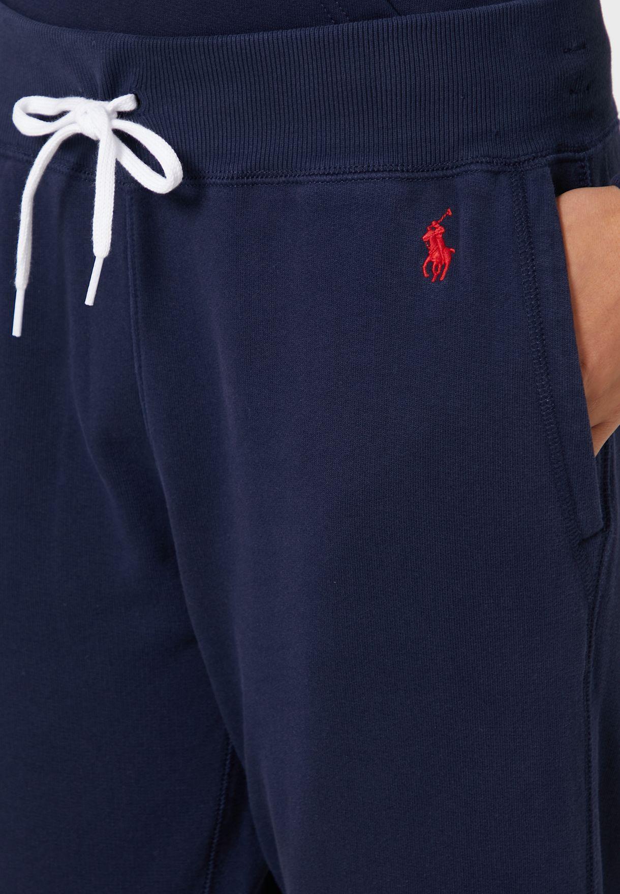 Tie Waist Logo Sweatpants