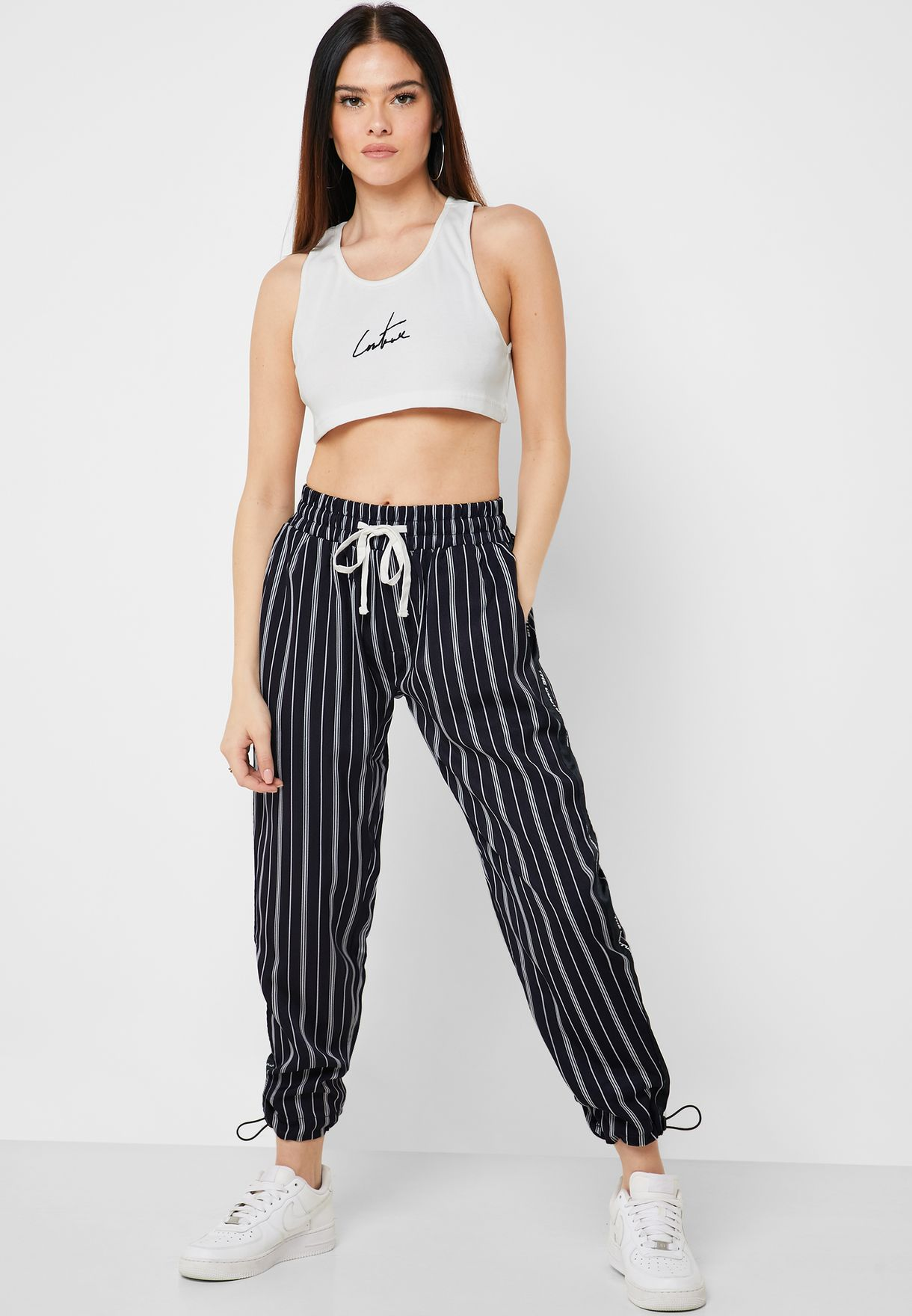 Signature Ribbed Cropped Top