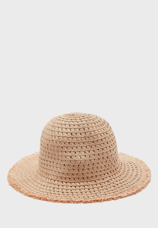 Kids Perforated Bucket Hat