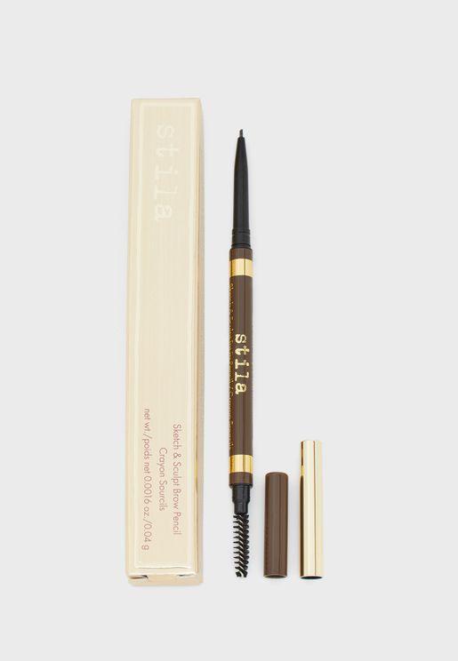 قلم حواجب سكتش اند سكالبت - دارك
