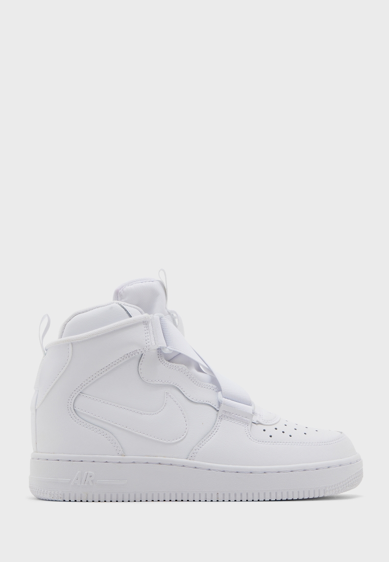 Nike white Youth Air Force 1 Highness
