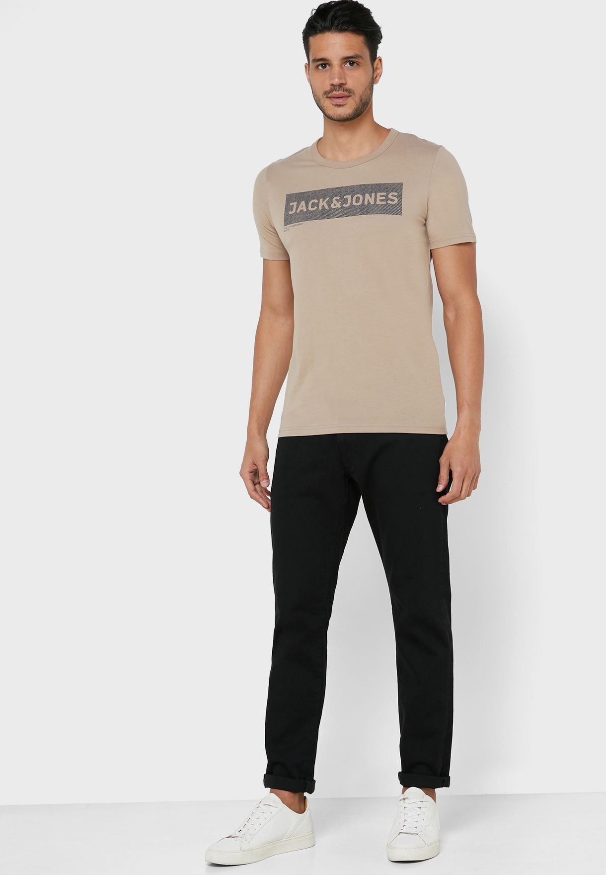 Shawn Slim Fit Crew neck T-shirts
