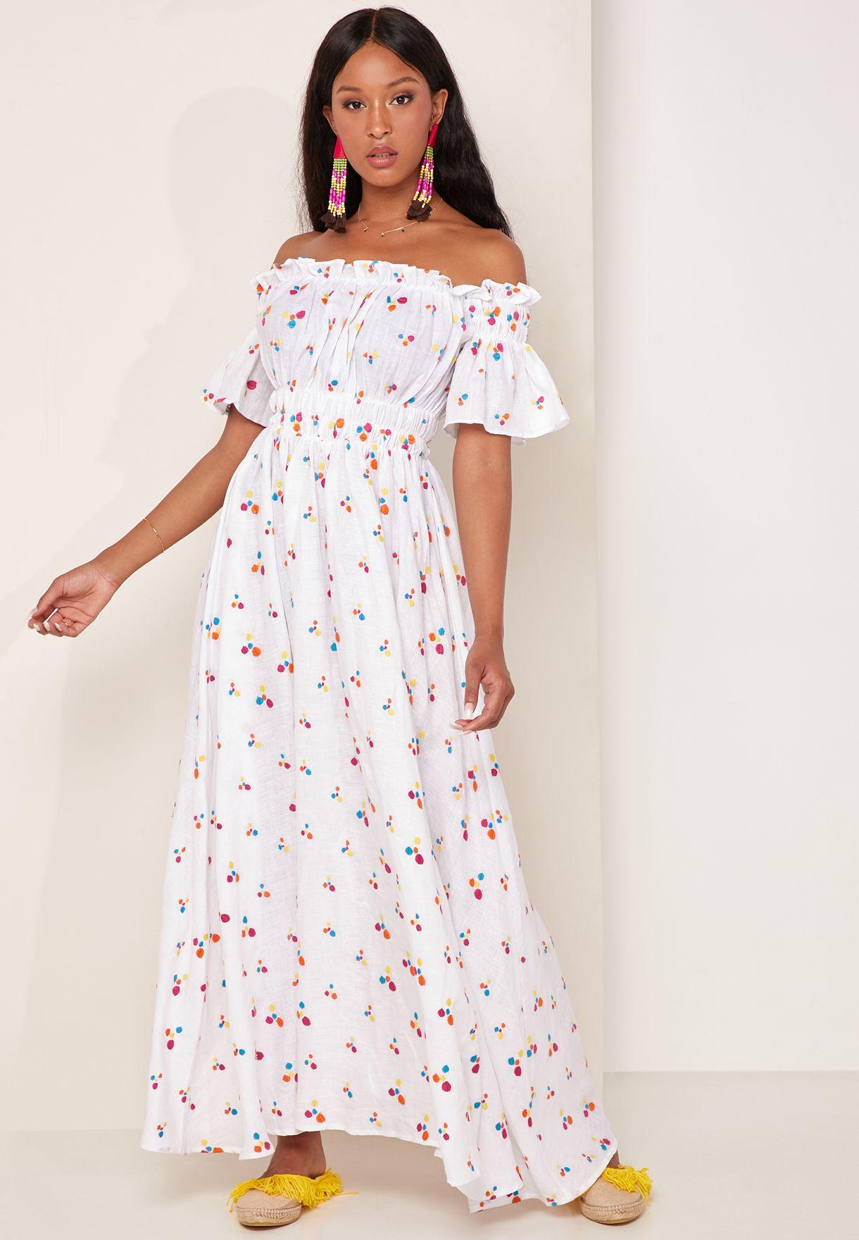 Nana Printed Dress