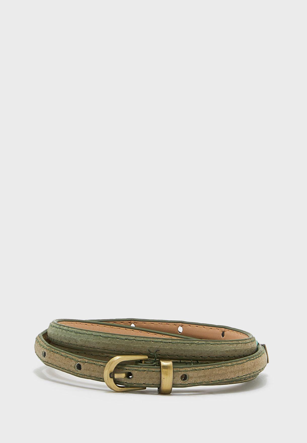 Gold Hardware Detail Belt