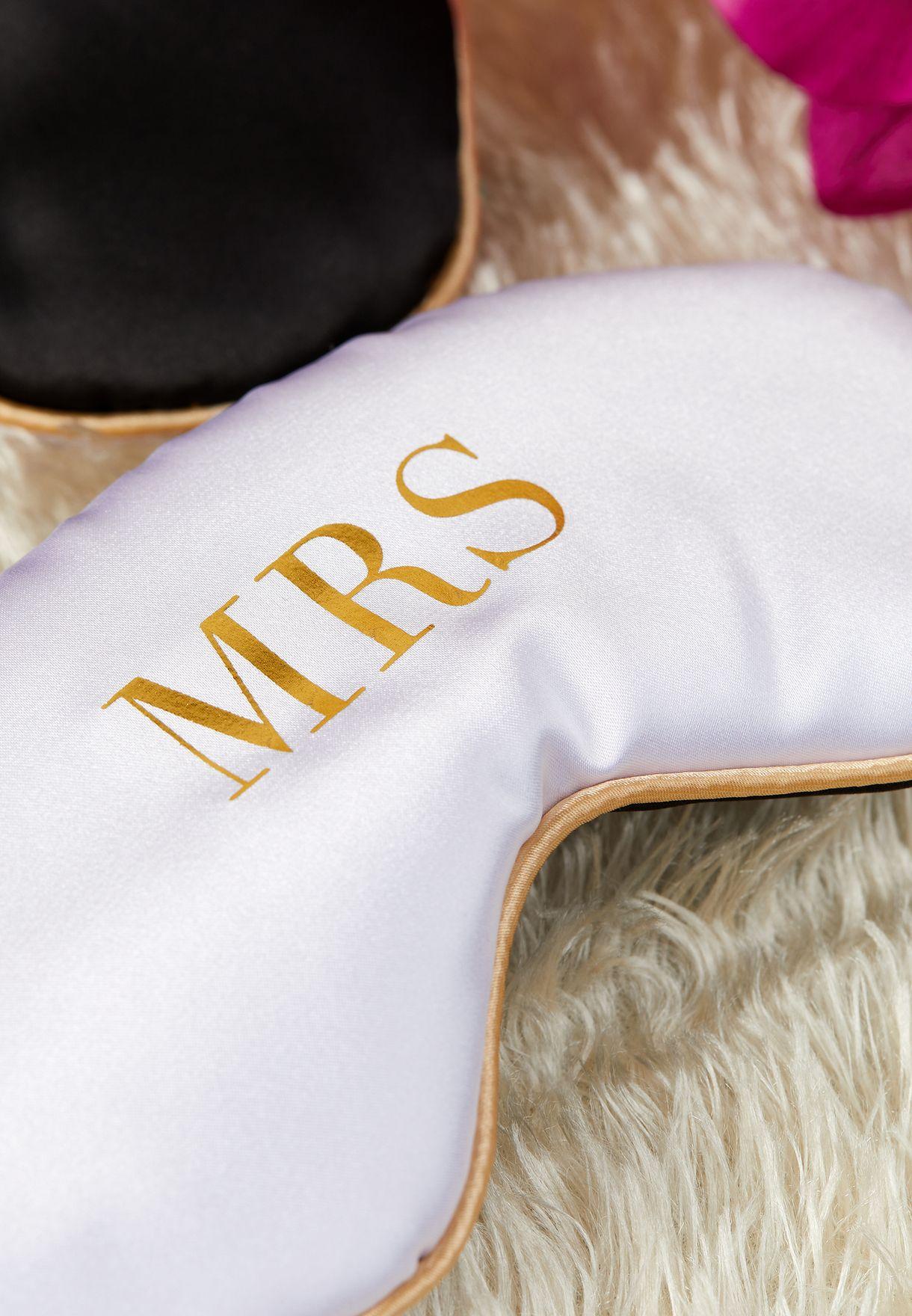 Mrs Eye Mask