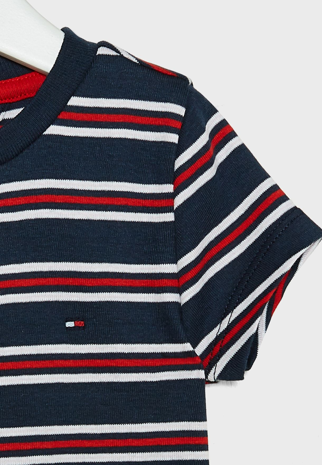 Kids Striped Cropped Top