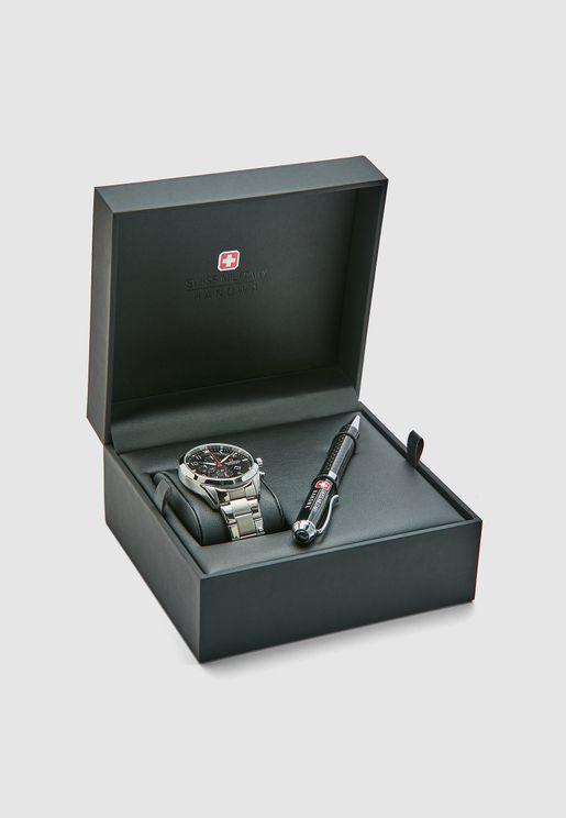 W S6-5316.04.007 Helvetus Chrono Watch