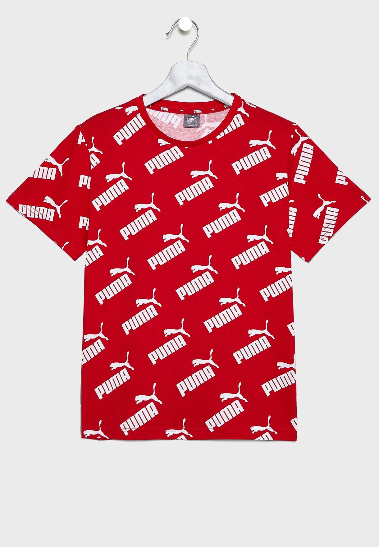Kids Amplified AOP T-Shirt