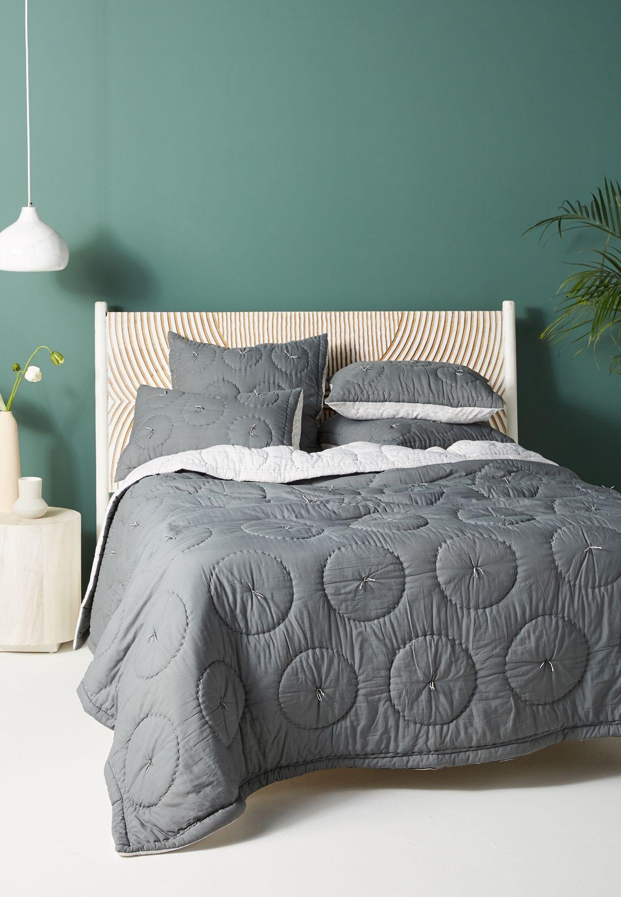 بطانية مبطنة بحجم سرير كبير