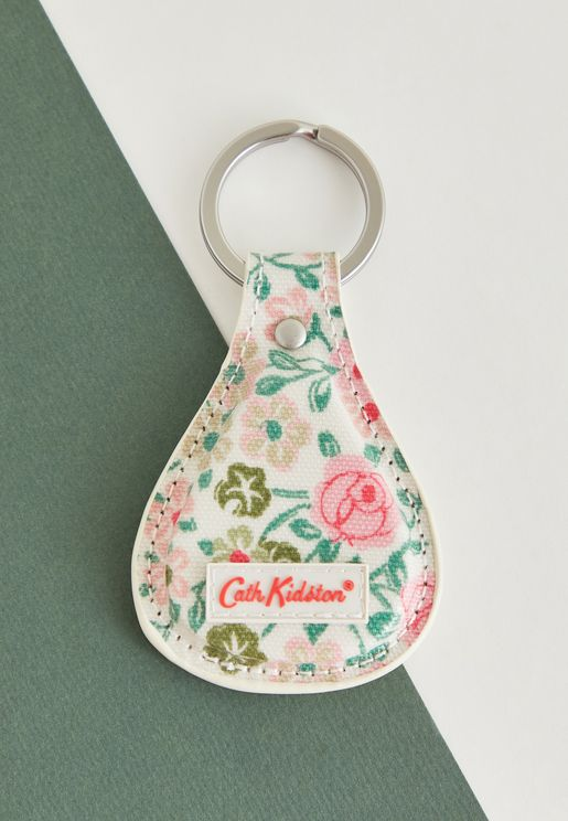 Floral Bell Key Fob
