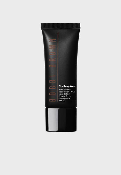 Skin Longwear Fluid Powder Foundation SPF20 - Cool Chestnut