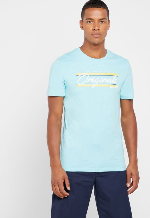 Retro Cali Crew Neck T-Shirt