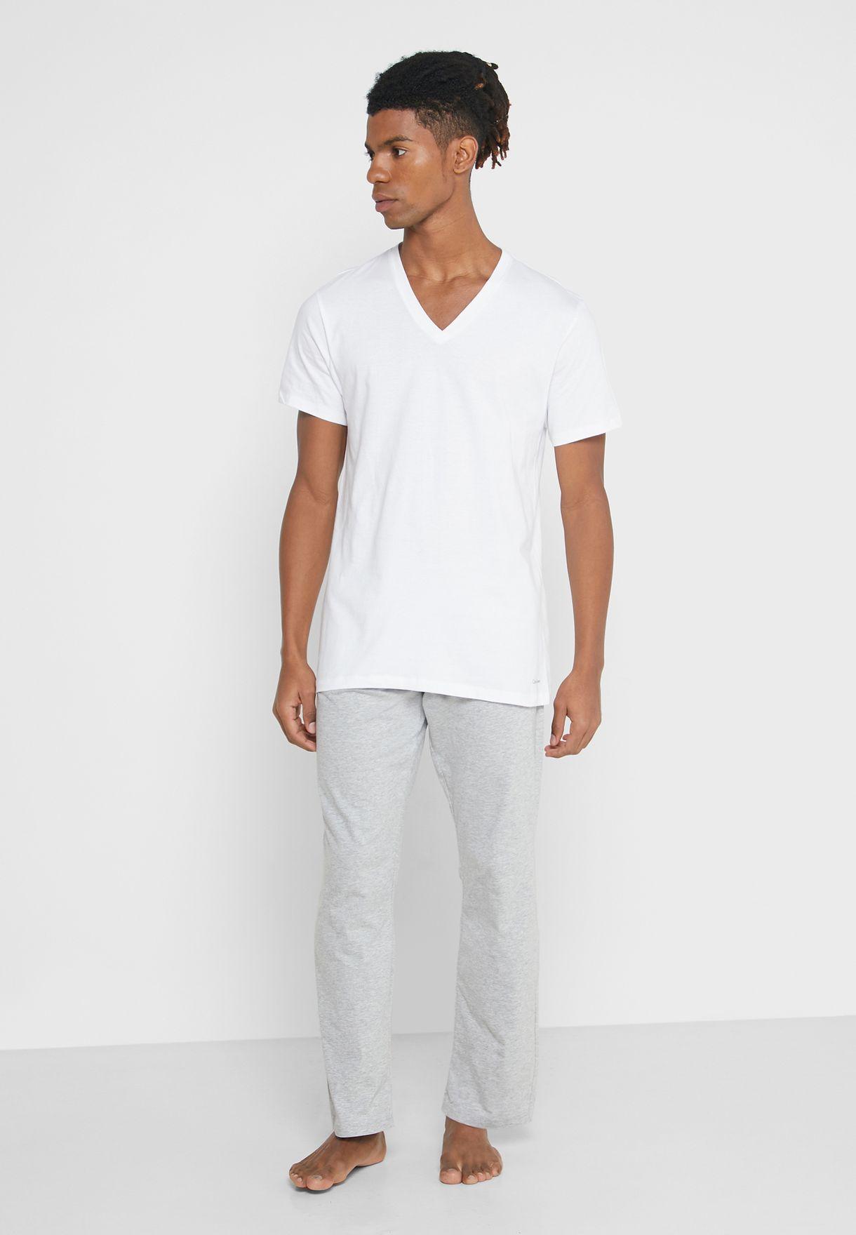 3 Pack V-Neck T-Shirt