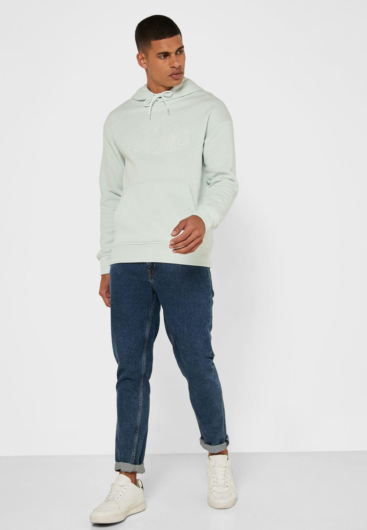 Logo Relaxed Hoodie