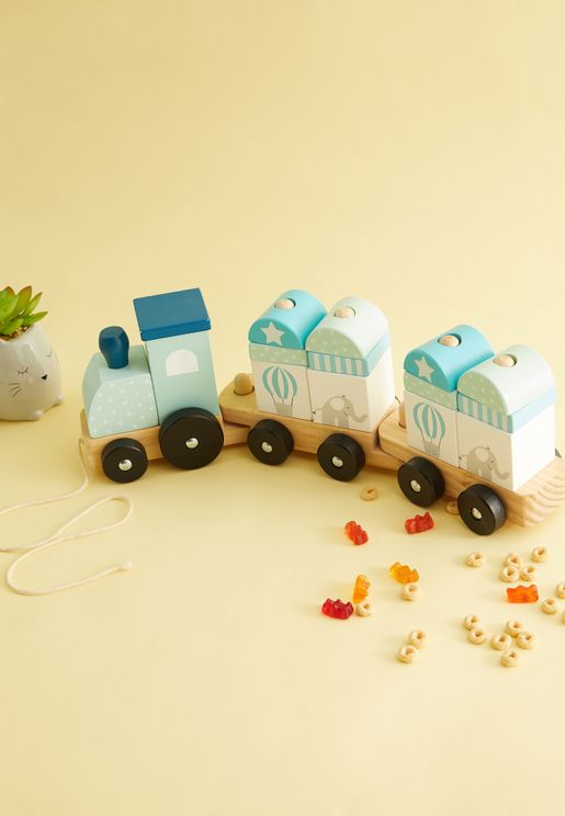 Block Train Toy