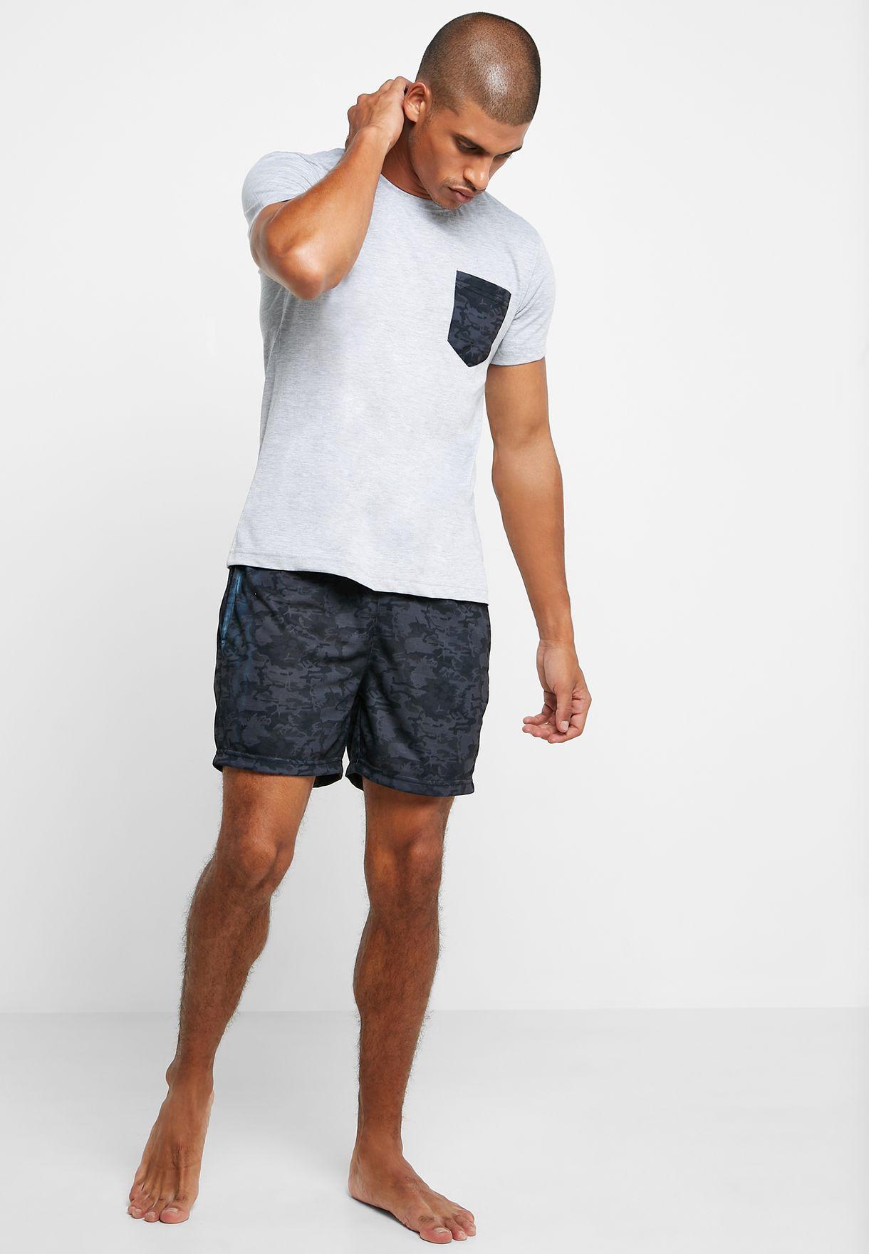 Camo Short Pyjama Set